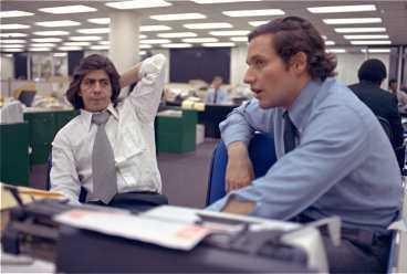Journalisterna Carl Bernstein och Bob Woodward på Washington Post vann Pulitzerpriset för sitt arbete med Watergateaffären.