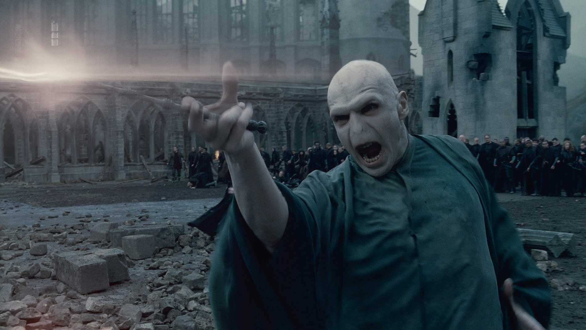 Harry Potters ärkefiende Voldemort.