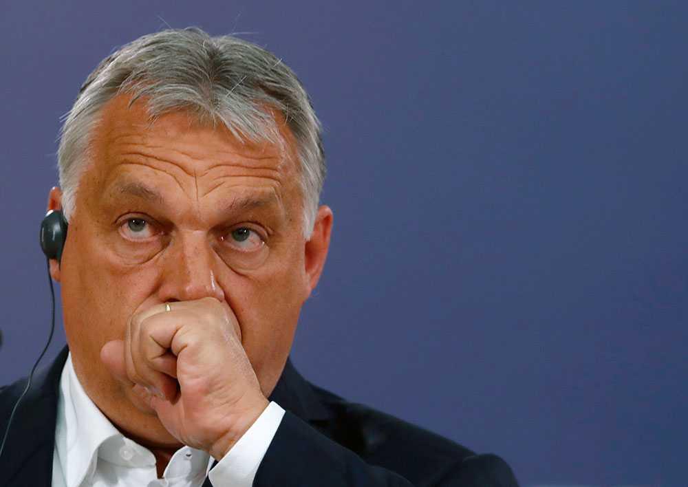 """Det uttalade målet för premiärminister Viktor Orbán är att skapa en """"illiberal demokrati""""."""
