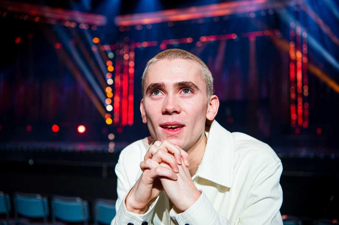 Felix Sandman siktar på seger i Eurovision.