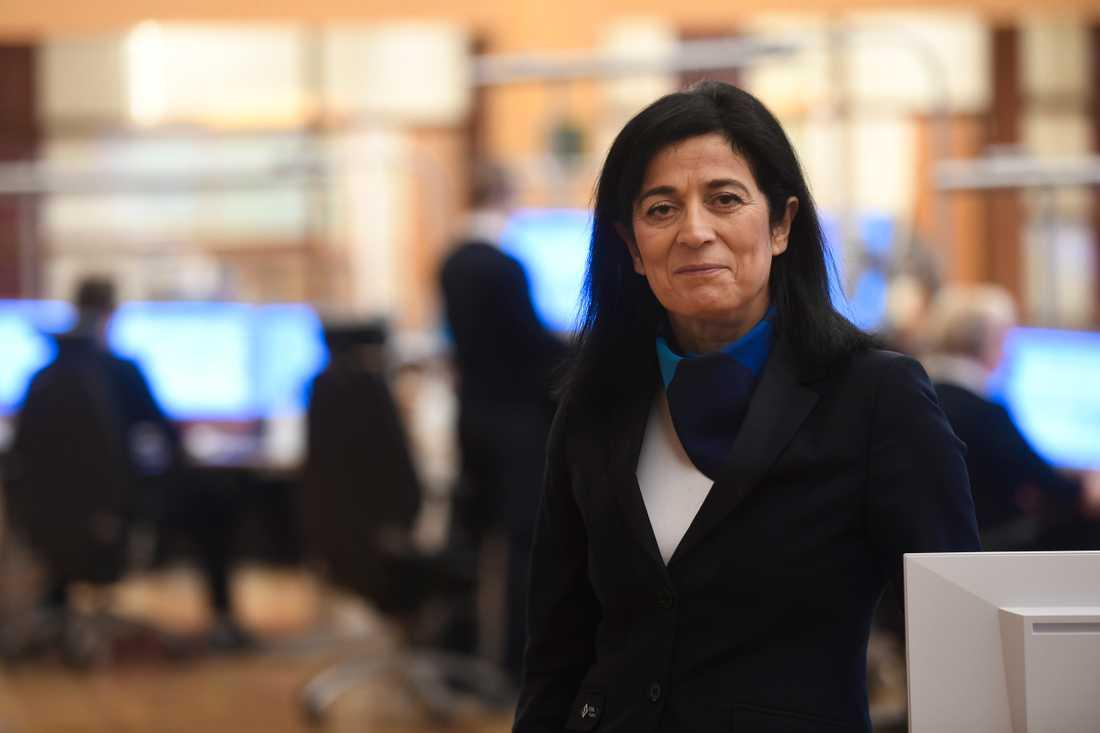 Maria Khorsand, vd SOS Alarm. Arkivbild.