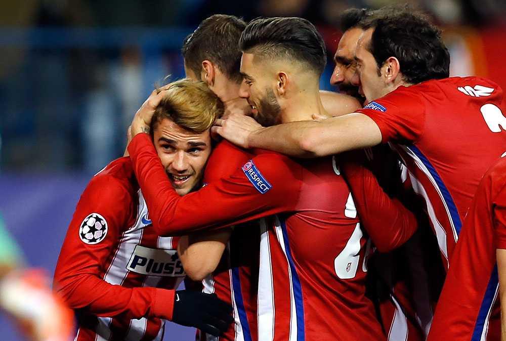 Antoine Griezmann bakom segern mot Galatasaray
