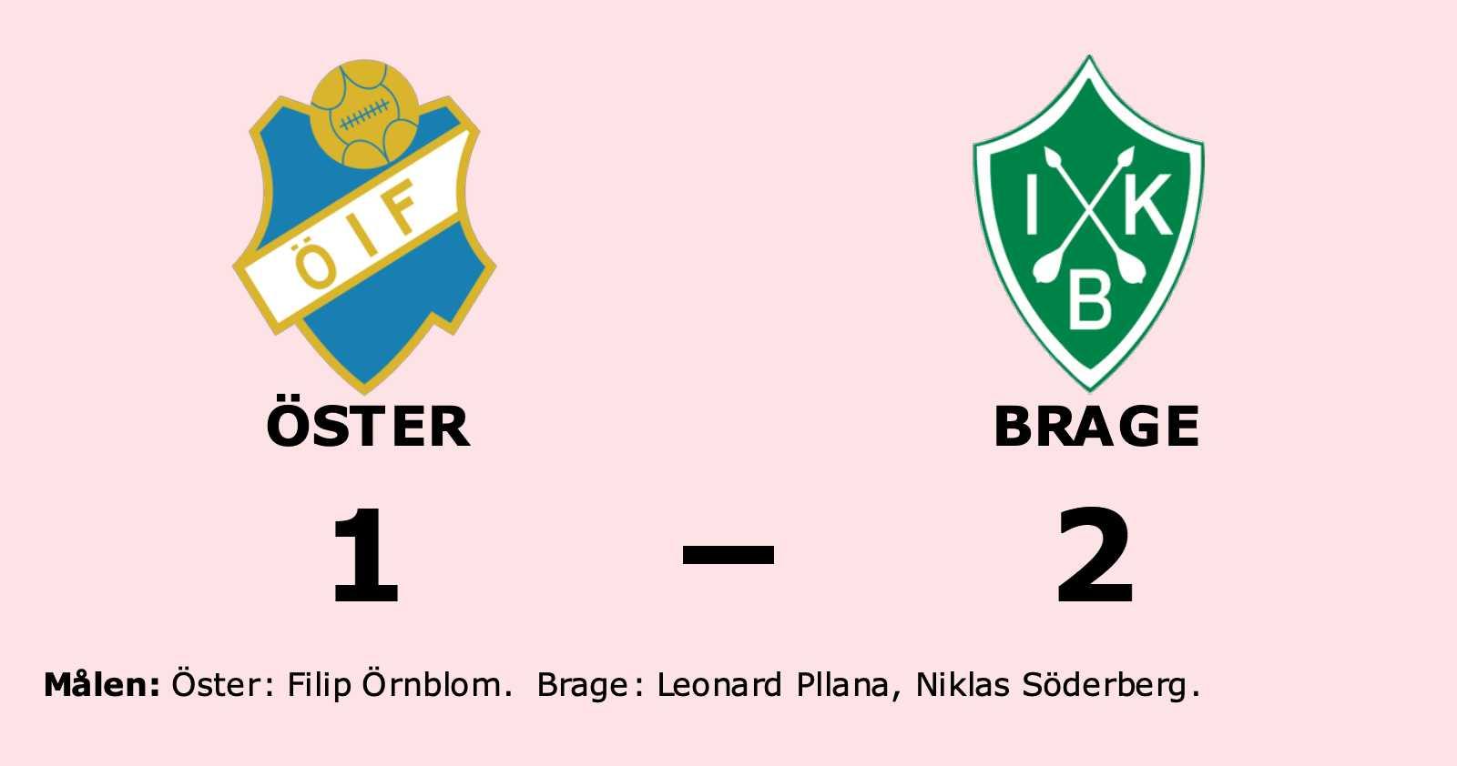 Första segern för säsongen för Brage
