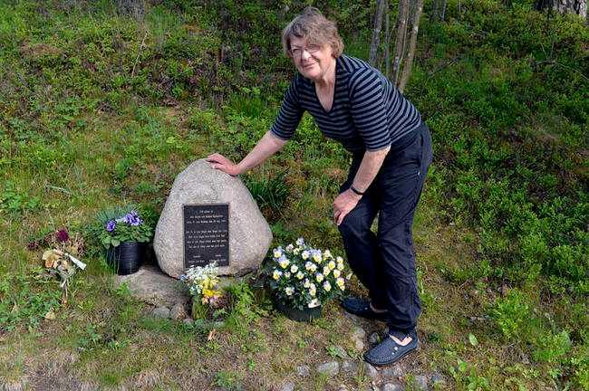 Astrid Gladhs son Robert var en av de två poliser som sköts till döds efter rånet i Kisa.