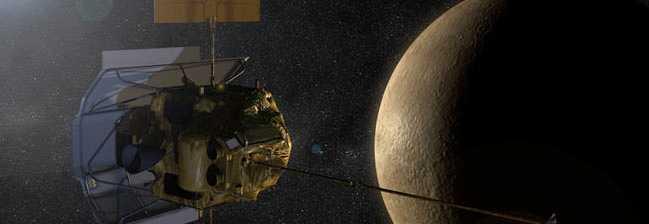 SNART FRAMME. Rymdsonden Messenger slår snart ner på Merkurius