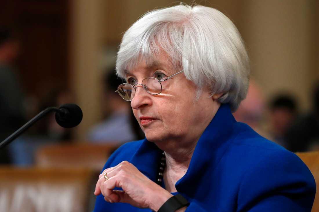 USA:s tilltänkta finansminister Janet Yellen. Arkivbild.