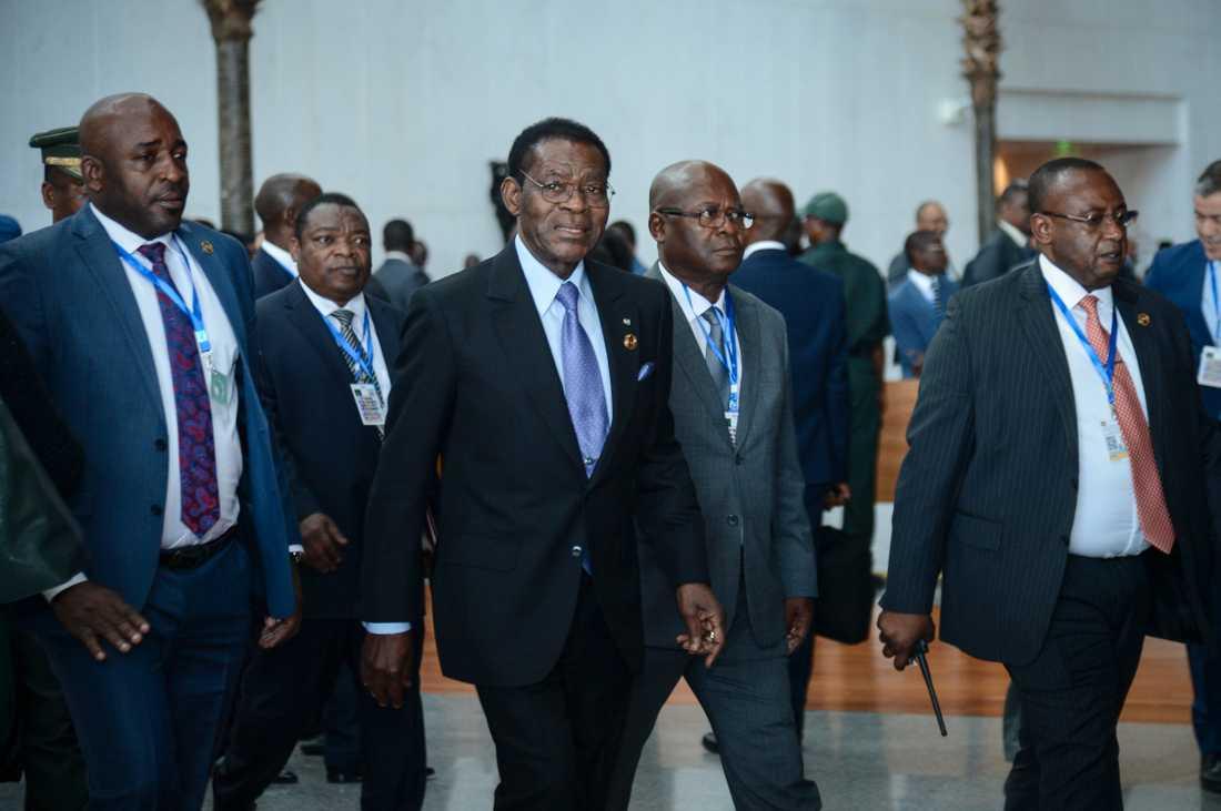 President Teodoro Obiang. Arkivbild.
