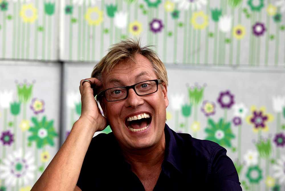 """Lars-Åke """"Babsan"""" Wilhelmsson, 55 år,  programledare, Stockholm """"Ge henne mycket tid och kärlek."""""""