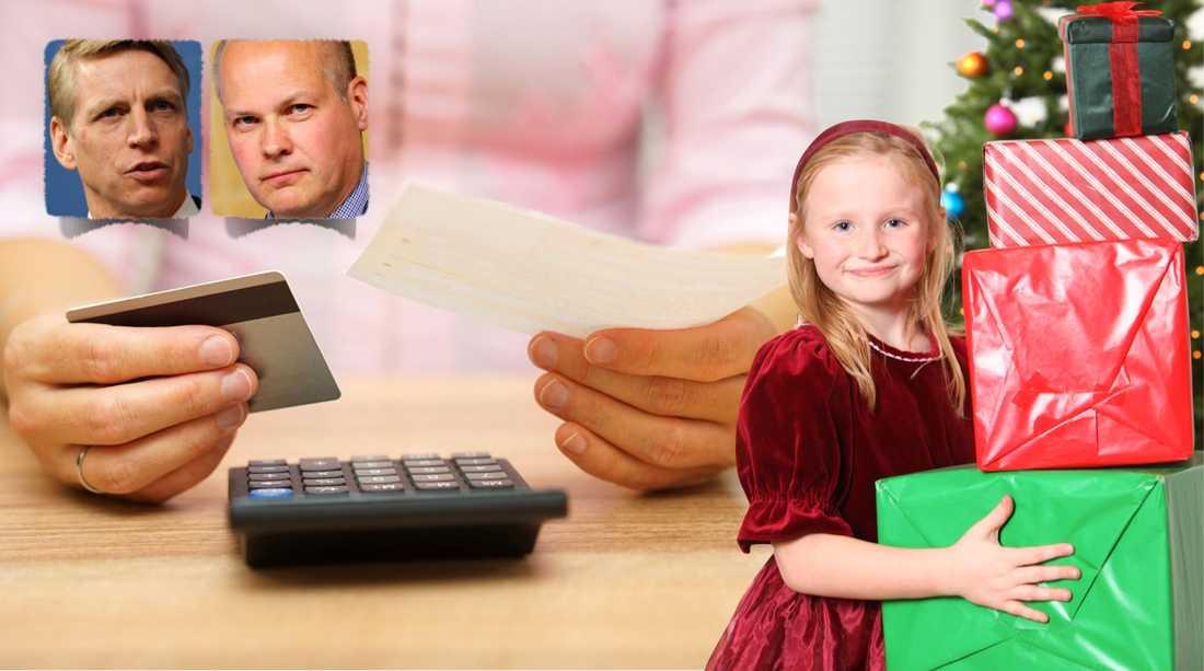 I dag träder en ny skuldsaneringslag i kraft som ska hjälpa fler att ta sig ur sin skuldfälla. Bland annat införs två betalningsfria månader. På så sätt får till exempel skuldsatta barnfamiljer bättre möjlighet att fira jul, skriver debattörerna.