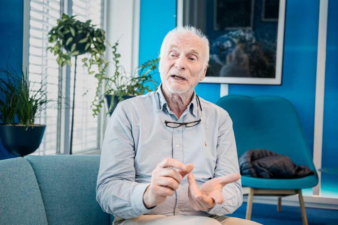 """""""Jag blir stolt när jag ser att barnen får ett bättre liv"""", säger Börje Erdtman."""