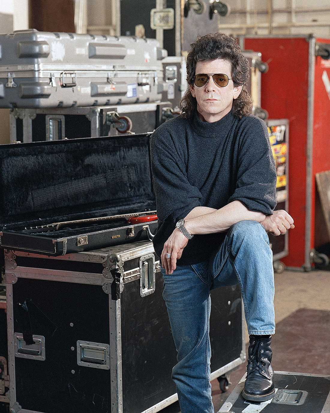 Lou Reed i American Sound Studio i New York 1989.