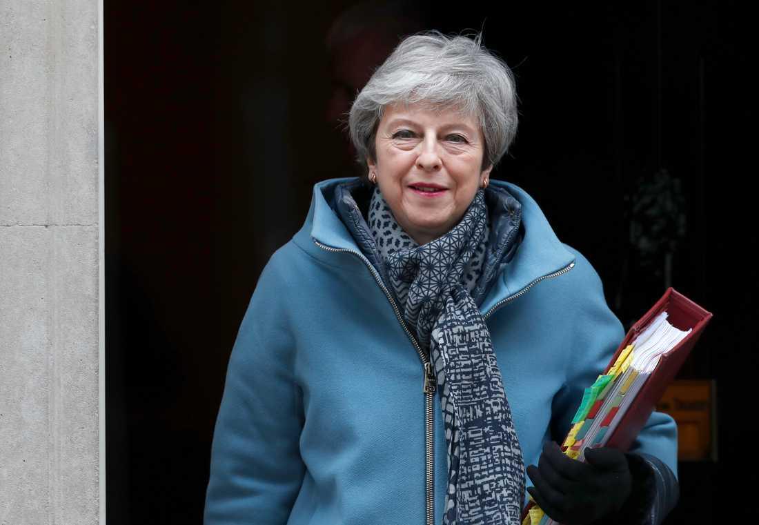 Storbritanniens premiärminister Theresa May ska ha gått med på att avgå för att få igenom sitt brexitavtal.