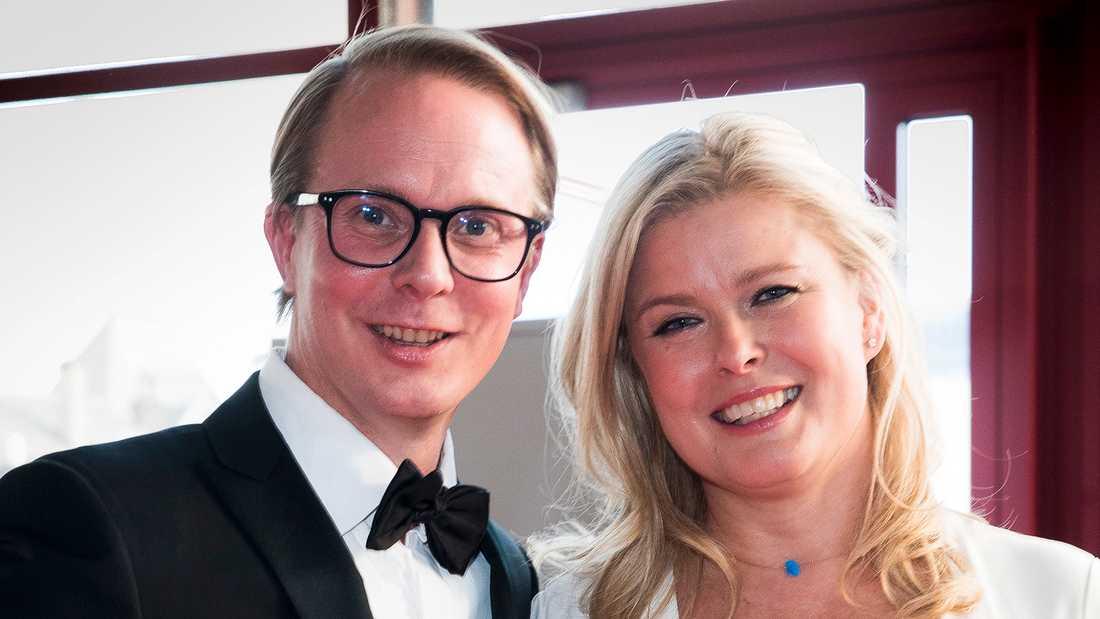 Petter Pilgaard och Vendela Kirsebom.