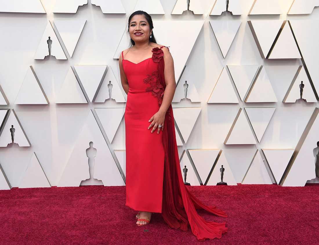 """Nancy Garcia känd från """"Roma""""."""