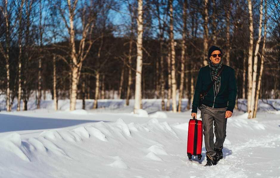 """Peter Jöback i """"Jag kommer hem igen till jul""""."""