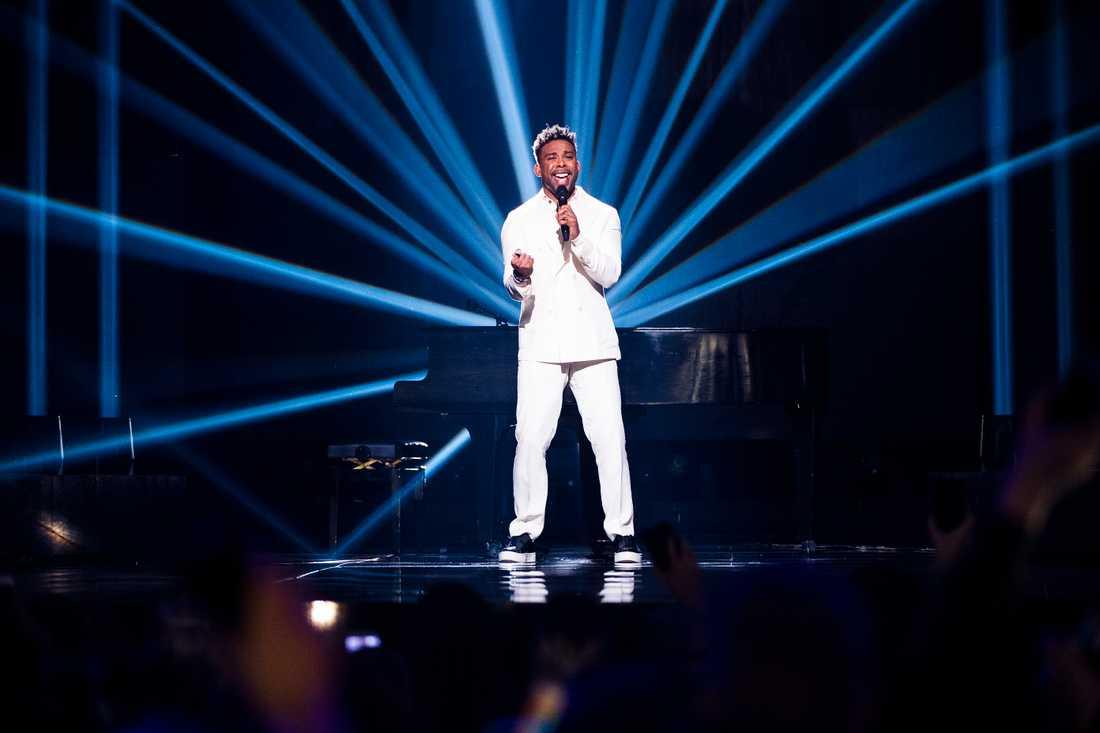 John Lundvik i Melodifestivalens final