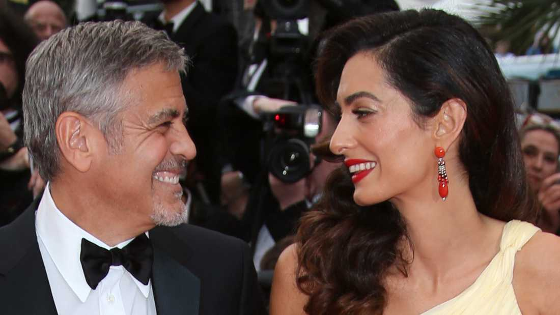 George och Amal Clooney.