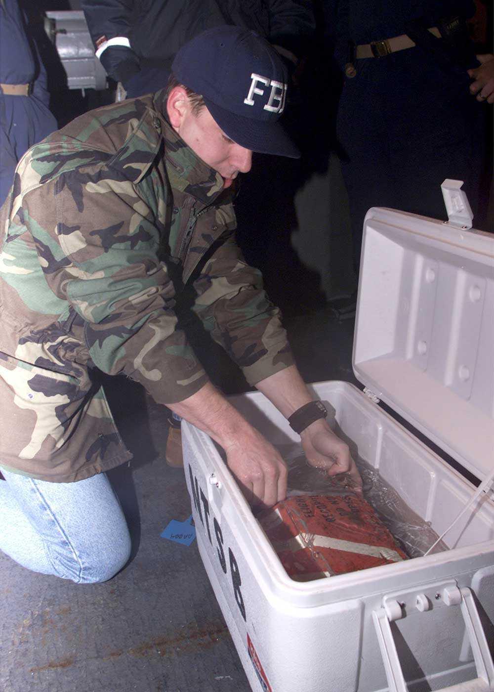 En FBI-agent och den svarta lådan från Egypt Air Flight 990.