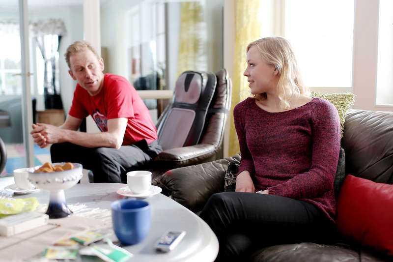 Gunde och Julia Svan.