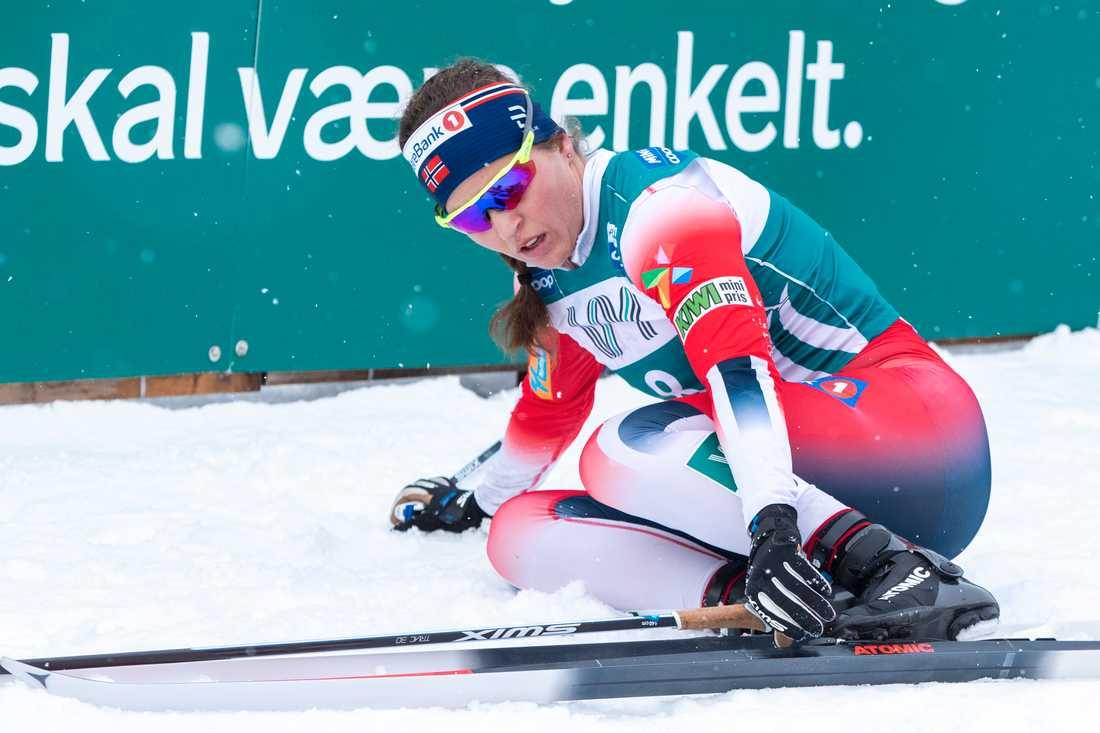 Heidi Weng var inte alls nöjd med standarden på boendet i Lahtis.