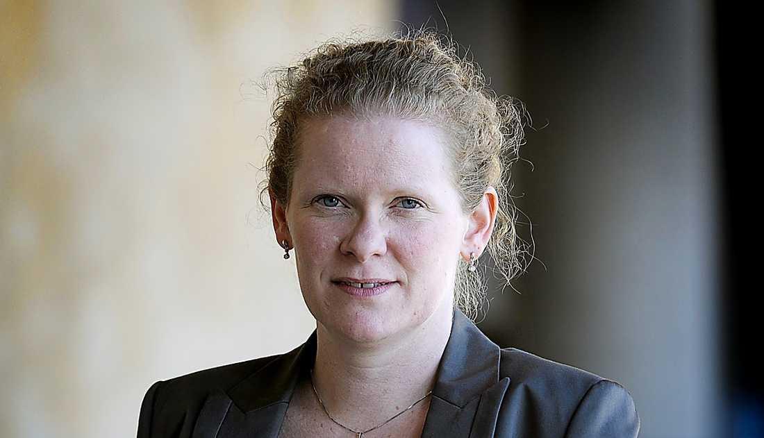 Karin Wanngård.