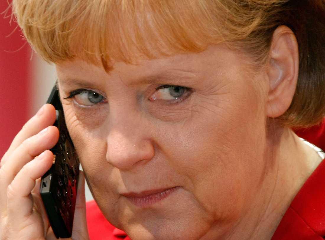 Enligt tyska uppgifter har Angela Merkels samtal avlyssnats av USA.