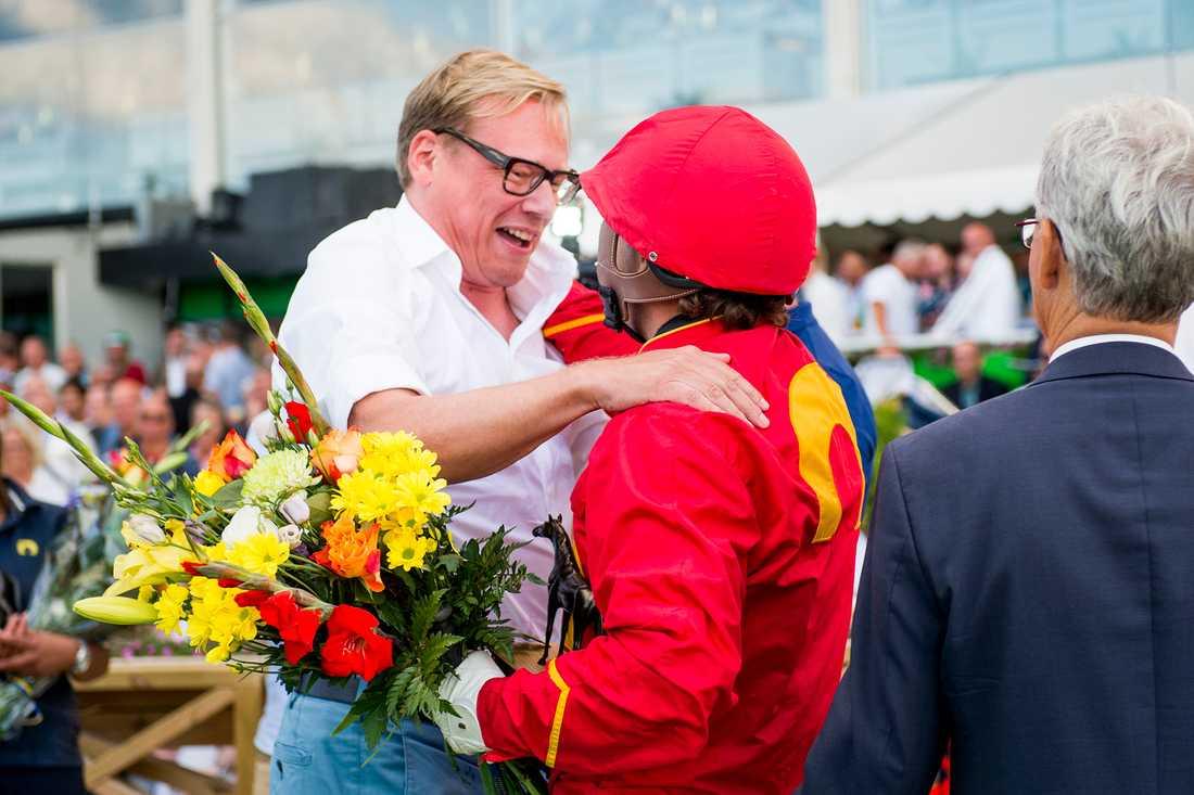 Unibet-grundaren Anders Ström ropade in supertalangen på auktion i Lexington för 2,9 miljoner kronor i fjol.