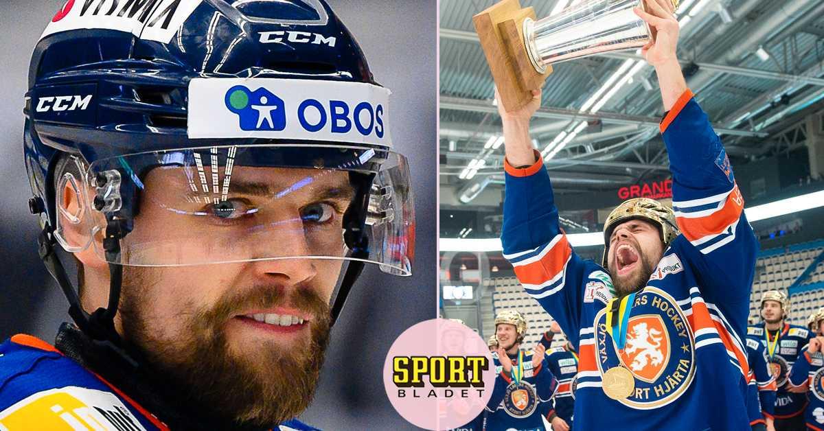 Guldhjälten lämnar Växjö – klar för KHL-klubb