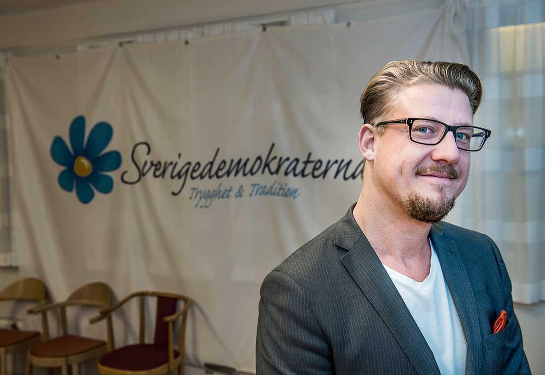 Linus Bylund, riksdagsledamot för SD.