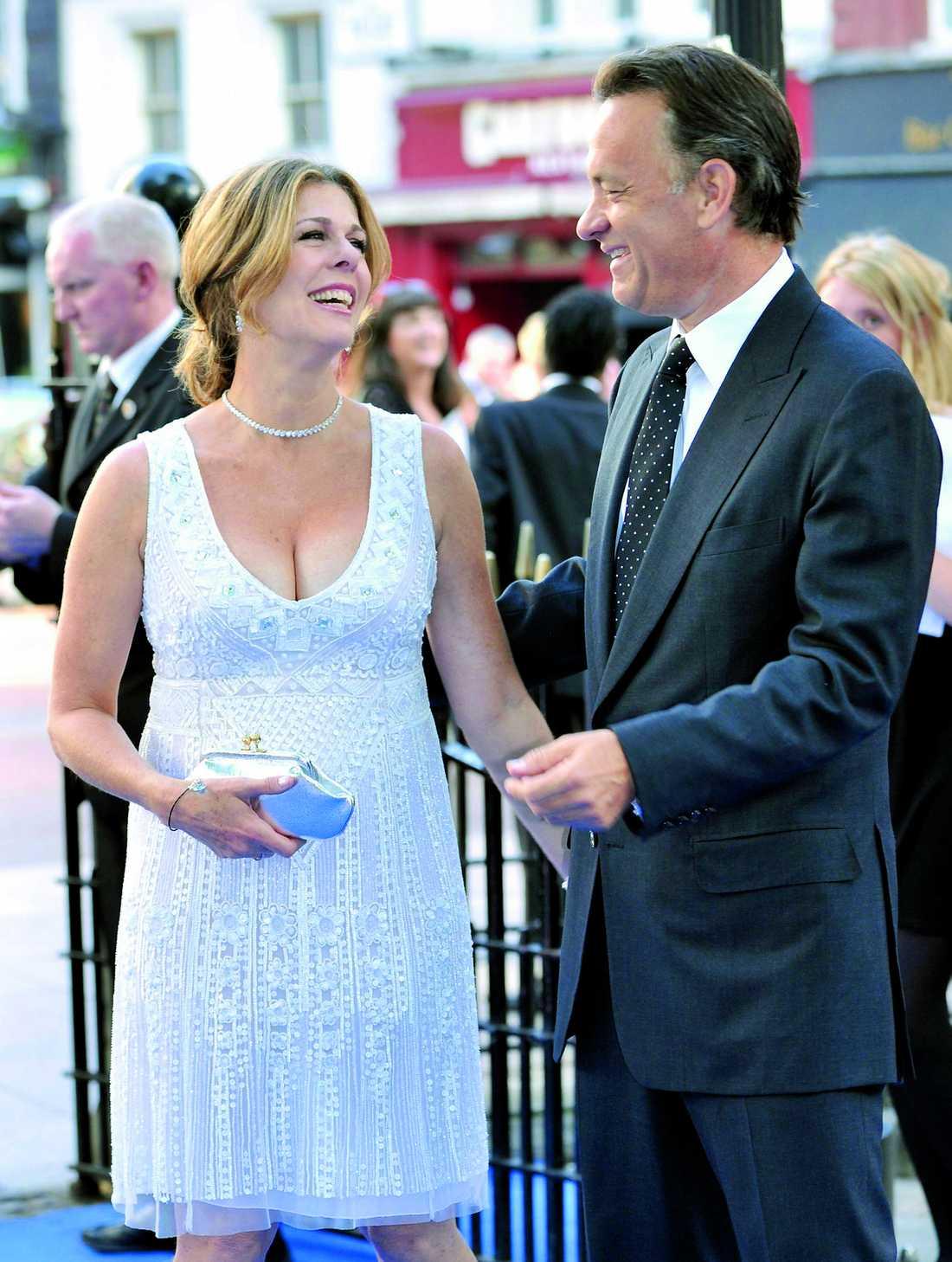 Ett av Hollywoods äldsta radarpar - Tom Hanks och Rita Wilson. De har lyckats kombinera karriär och kärlek och har nu varit gifta i tjugo år.