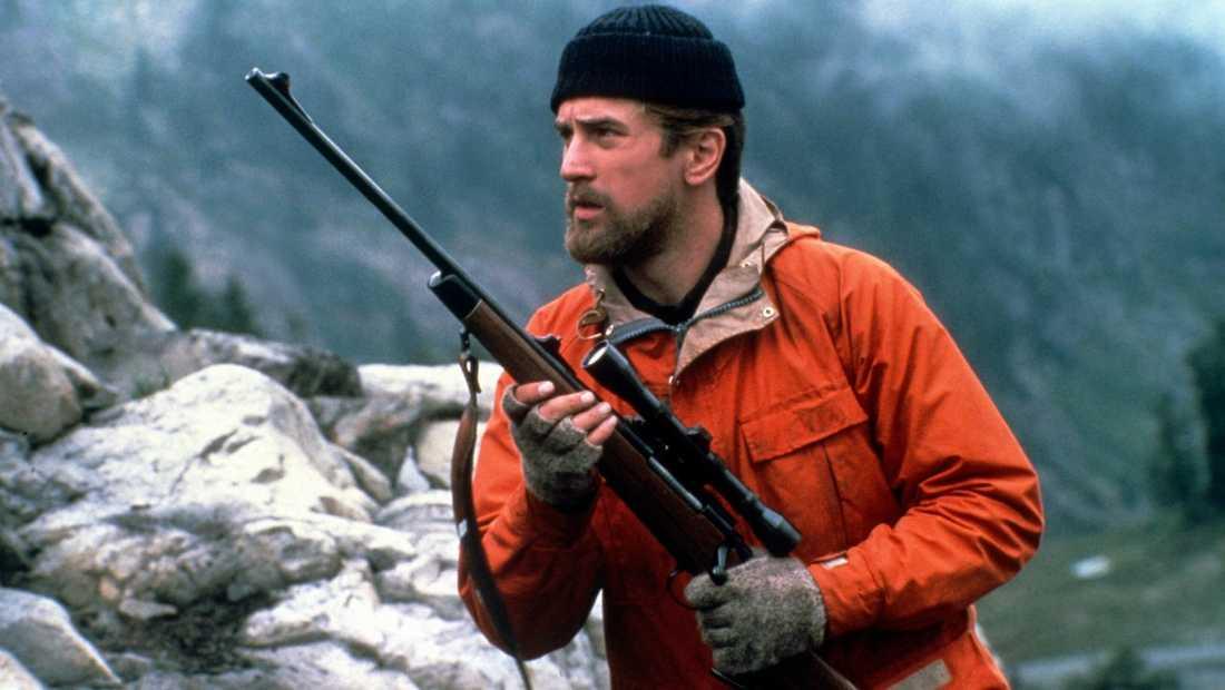 """Robert De Niro i """"Deer hunter"""" (1978)."""