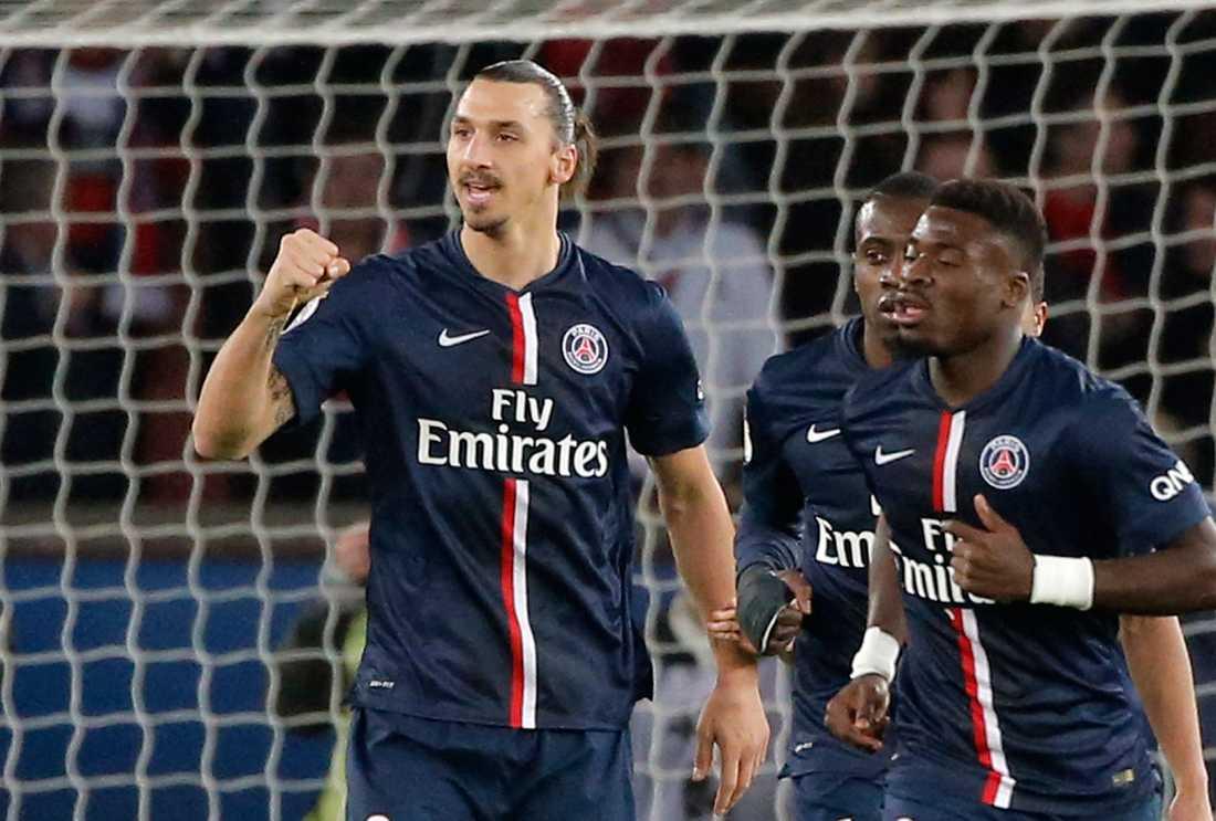 Titta Zlatan, oddsen pekar på ny seger i franska ligan.