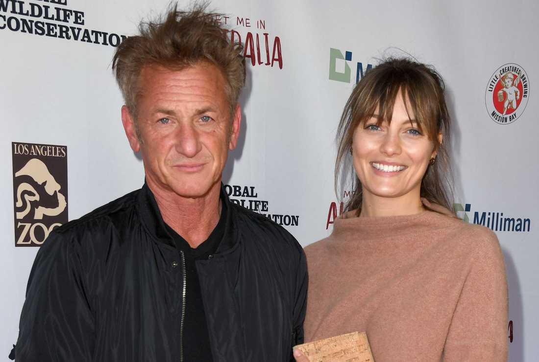 Sean Penn och Leila George.