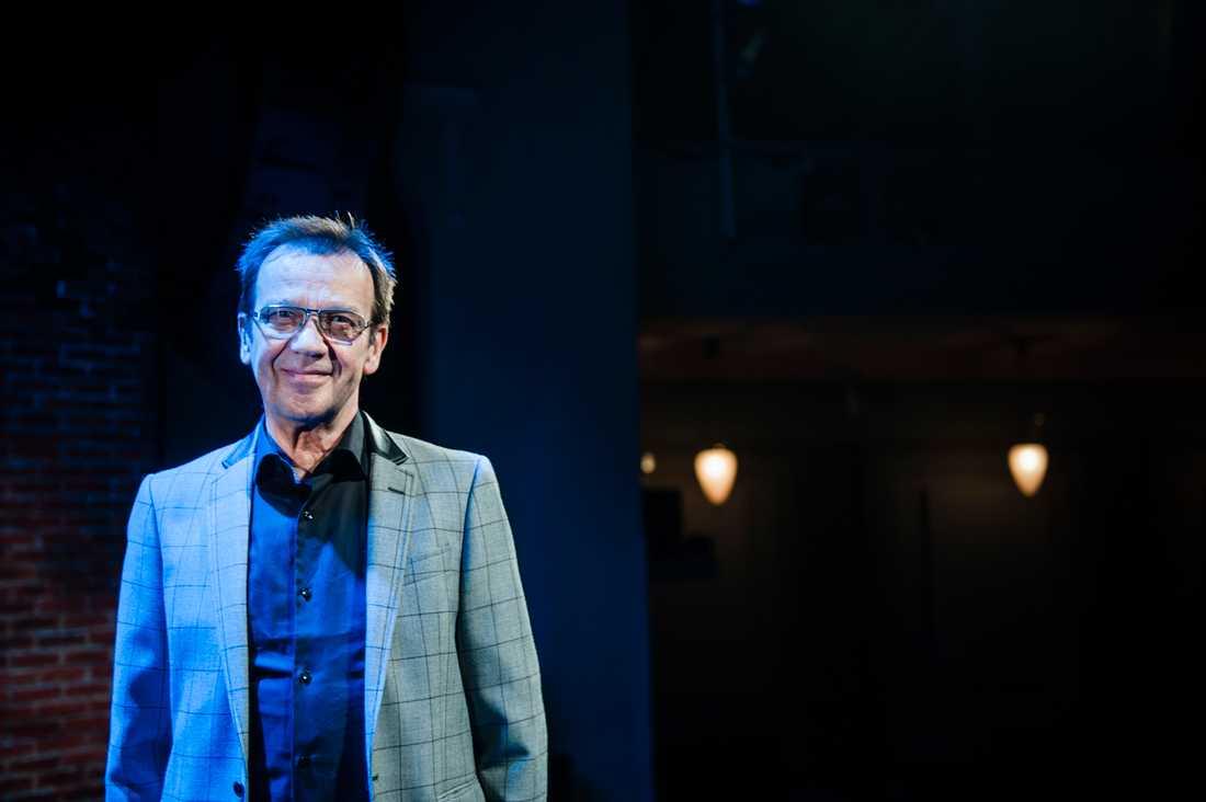 Björn Skifs uppträder i Melodifestivalen tillsammans med Tomas Ledin. Arkivbild.