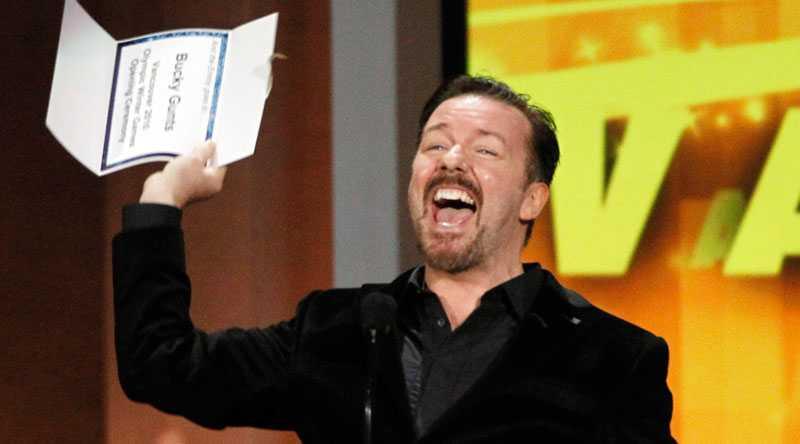 Nu tippar många att Ricky Gervais inte får vara värd för galan fler gånger.