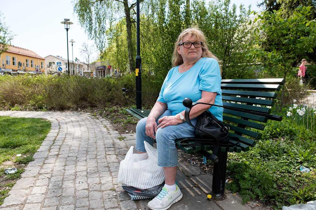 Åsa Victorsson i Mälarhöjden har gått och röstat sedan hon var fem år.