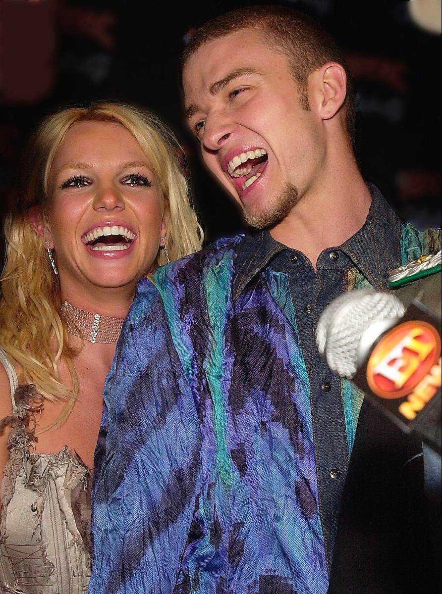 Justin Timberlake var tidigare tillsammans med Britney Spears.
