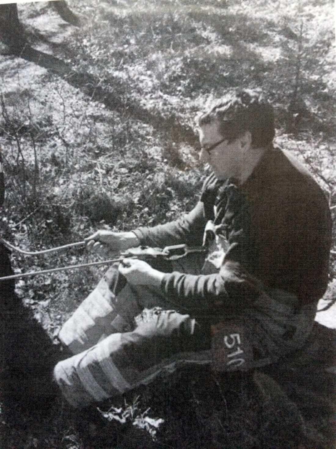 Andreas Larsen älskade sitt arbete som deltidsbrandman.