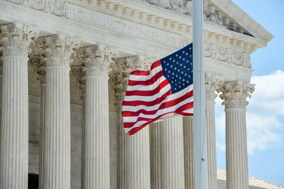 USA:s högsta domstol stoppar avrättningen av en man i Texas. Arkivbild.