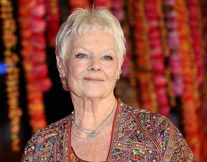 Förebilden Judi Dench.