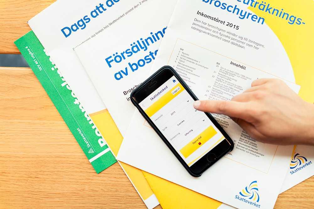 Från och med 21 mars kan du deklarera digitalt hos Skatteverket.