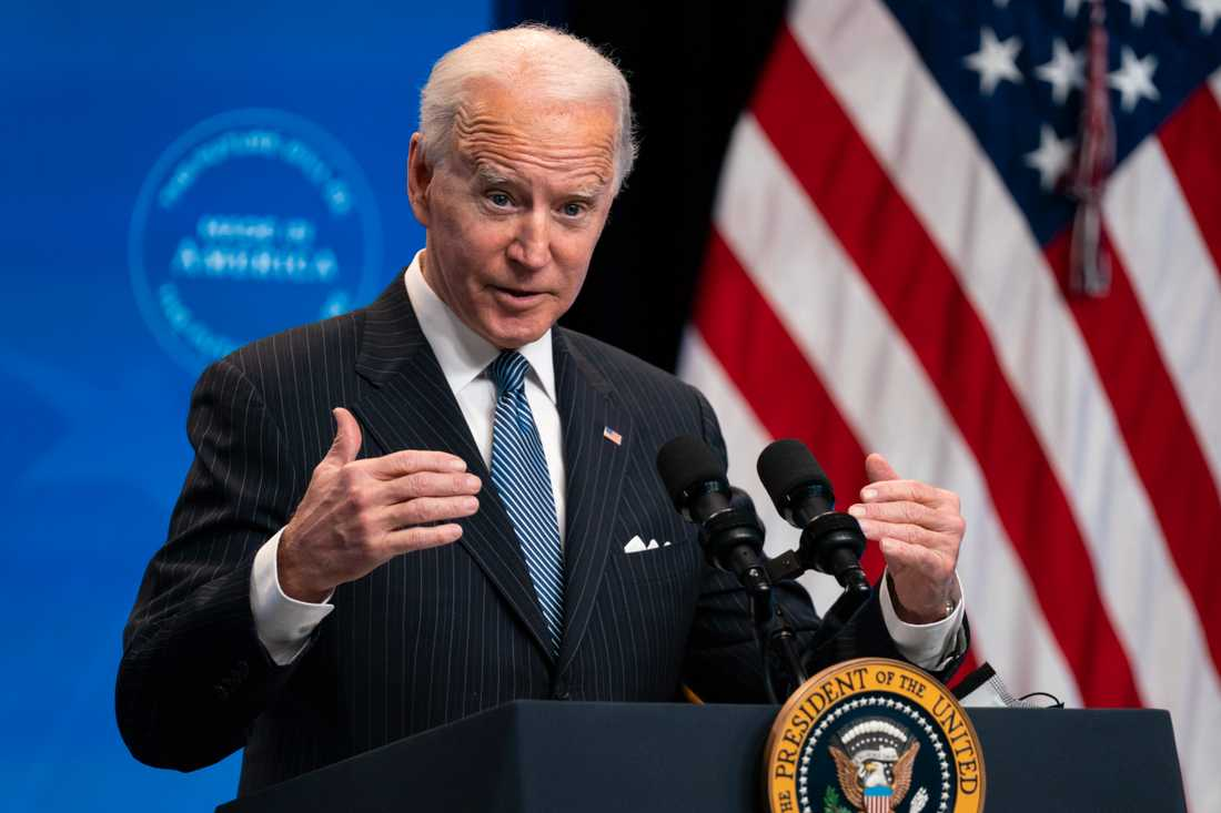 Joe Biden, USA:s president.
