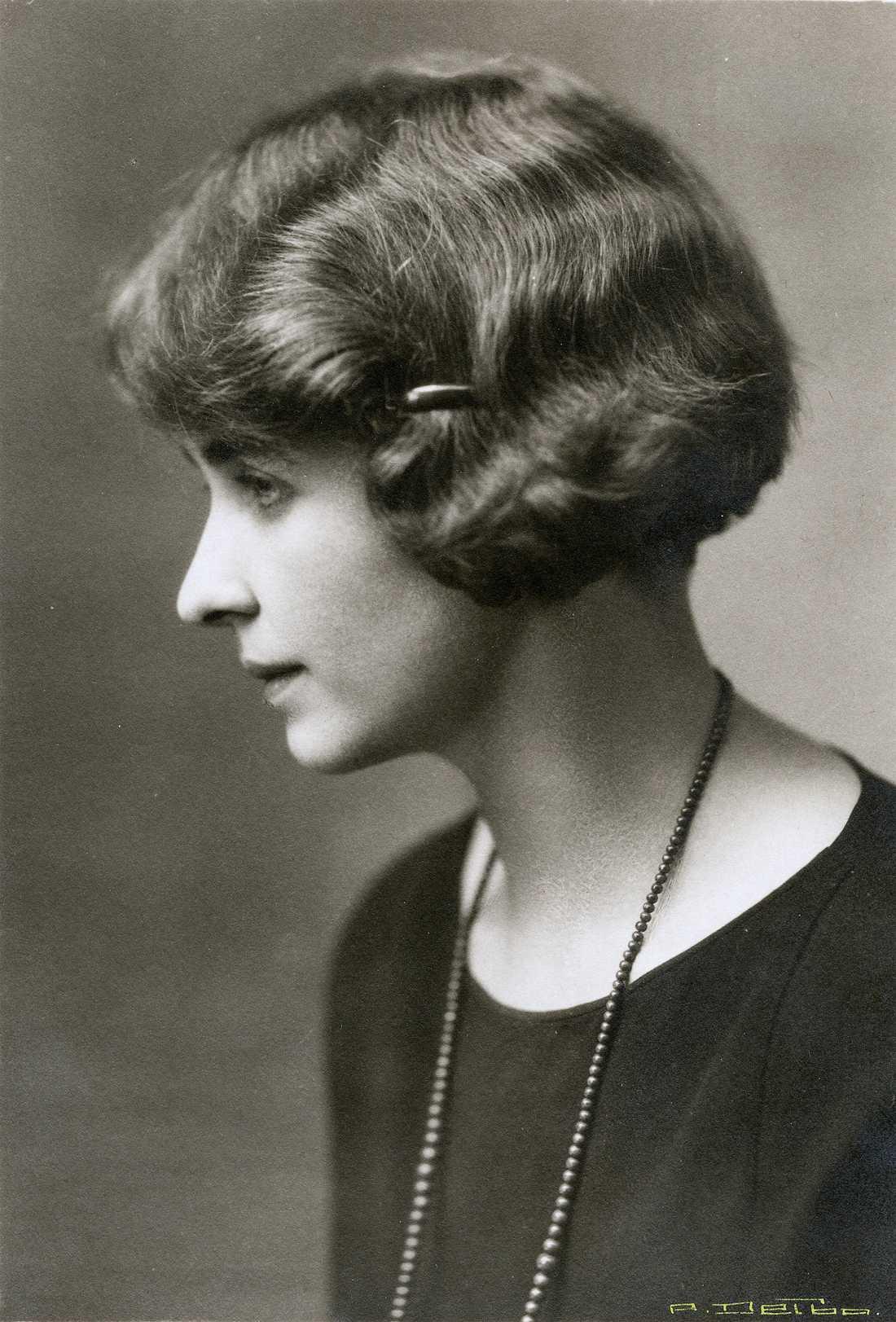 Greta Knutson-Tzara stod länge i skuggan av sin man, men gick hela tiden sin egen väg. Pressbild.