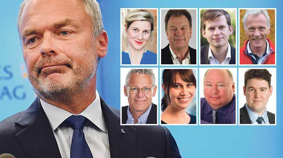 Liberalerna bör släppa fram en moderat statsminister – med det tydliga villkoret att vi inte tolererar att regeringen gör upp med Sverigedemokraterna, skriver åtta lokala L-politiker.