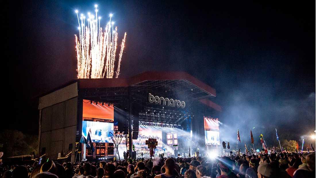 Eminems spelning på  festivalen Bonnaroo i helgen.