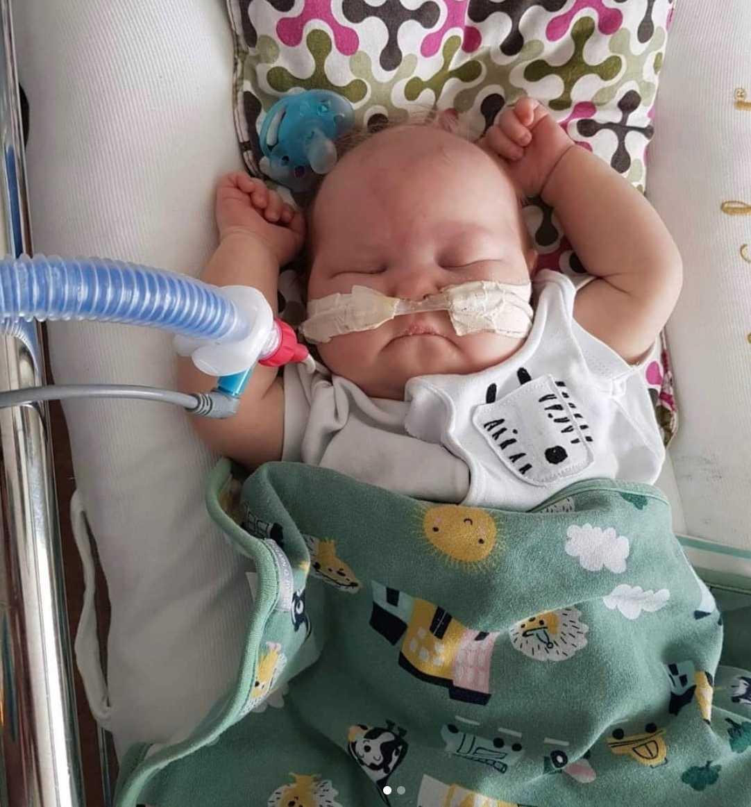 Alice föddes med leukemi.