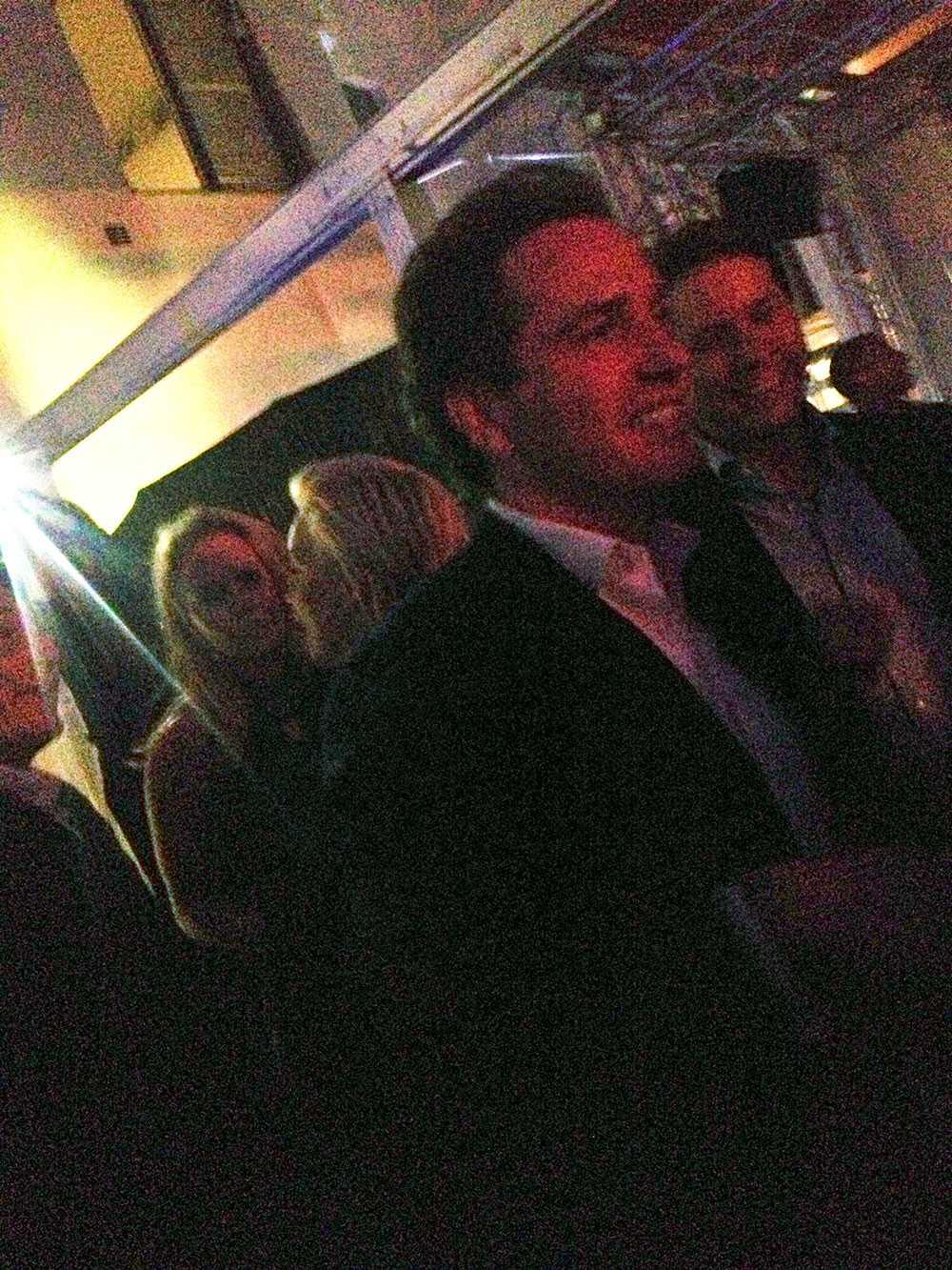 Chris på nattklubben The Wall, dit sällskapet åkte efter att de var på Sturehof.