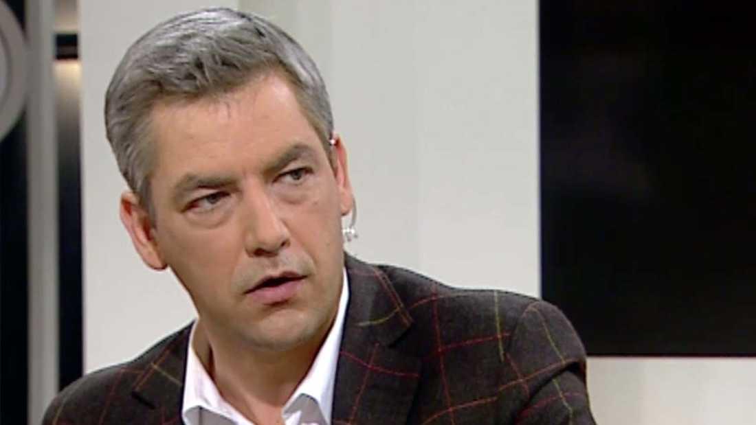 Anders Kraft i Nyhetsmorgon.