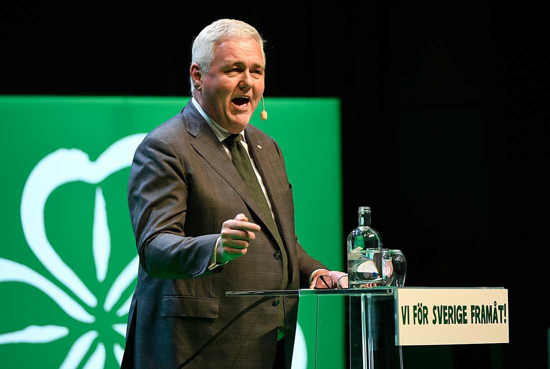 Anders W Jonsson, tillförordnad partiledare för Centerpartiet.