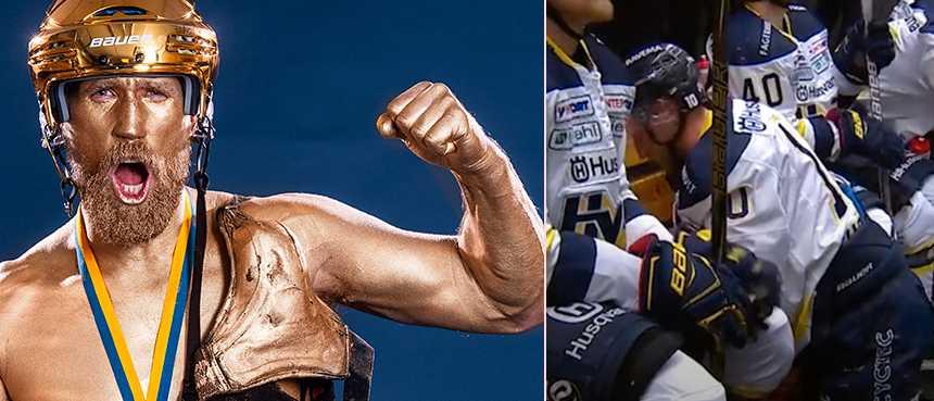 Guldsuspen som hjälpte HV71 till femte guldet